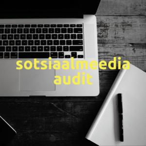 Sotsiaalmeedia audit